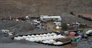 Chilean Trapped Miners: 33 miners remain trapped in the mine of San Jose, Chile