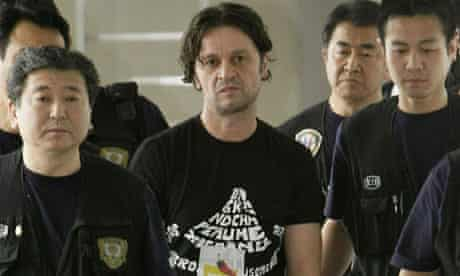 Rifat Hadziahmetovic was extradited from Spain to Japan this month.