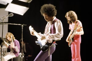 Hendrix Handel House: The Jimi Hendrix Experience on 'Happening for Lulu', London 1969