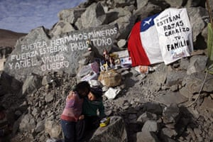 Chilean Miners Update: Elias Sepulveda, and Katherine relatives of the trapped miners