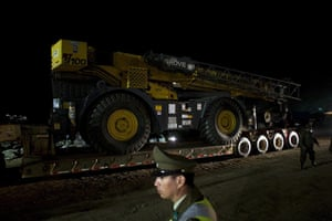 Chilean Miners Update: The machine wich will be used for rescue of the 33 miners