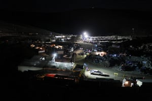Chilean Miners Update: The camp where relatives of 33 miners wait for news outside the mine