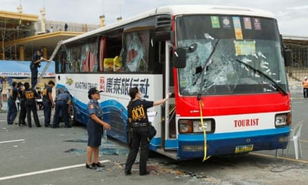 Philippines hostage bus