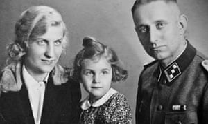 Martin Davidson's mother, Frauke, as a child with her mother, Thusnelda, and father, Bruno