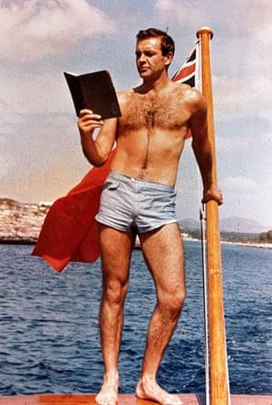 Sean Connery turns 80: Sean Connery as James Bond in Thunderball, 1965