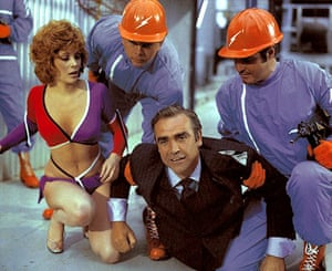 Sean Connery turns 80: Jill St John and Sean Connery as James Bondin Diamonds are Forever, 1971.