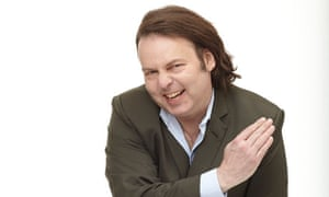 Chop and change ... The Mighty Boosh's Rich Fulcher performs his familiar cross-dressing routine