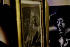 Hendrix Handel Exhibition: Jimi Hendrix exhibition opened today at the Handle House Mayfair