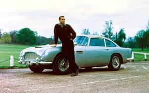 Sean Connery turns 80: Sean Connery in 'GOLDFINGER' 1964 Sean Connery, Aston Martin DB5