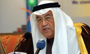 Saudi Arabia's Labour Minister Ghazi Alg