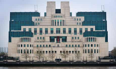 Headquarters of MI6