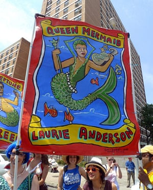 show & tell: Anderson: Mermaid Parade