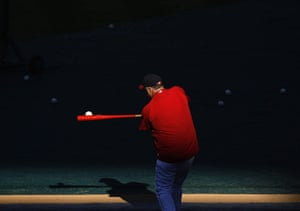 24 hours in pictures: Los Angeles Angels manager Scioscia