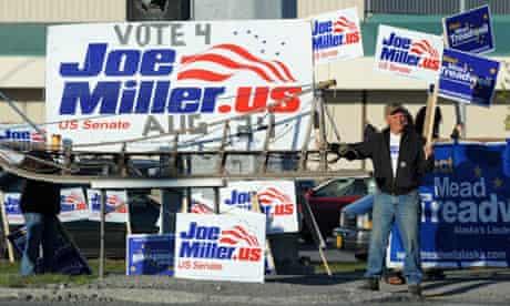 Joe Miller supporters in Alaska