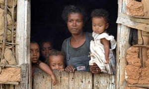 A family from a quilombola community in Pernambuco, Brazil