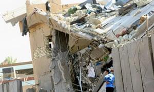 baghdad bomb iraqi policeman