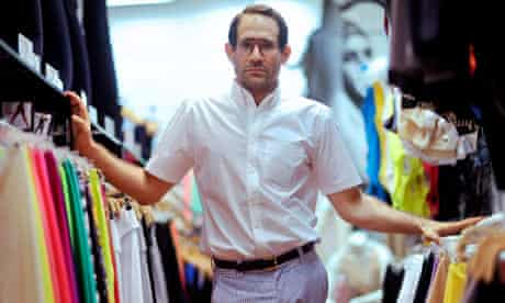 American Apparel's chairman and CEO Dov Charney.