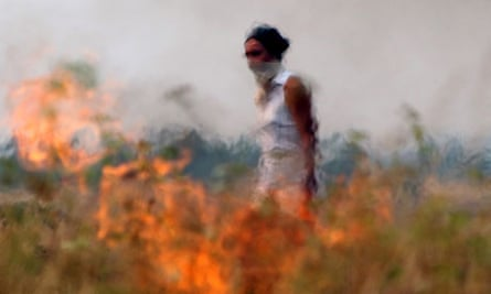 Heat and wildfires in Russia