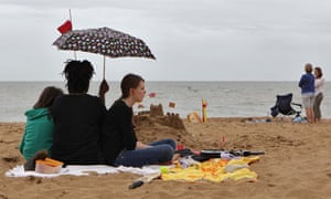 Holidaymakers in Broadstairs, Kent