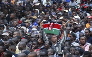Kenya Constitution: Crowds watch the promulgation of Kenya's new constitution