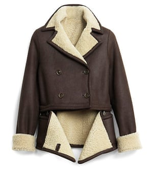 Key trends: Shearling: Jacket