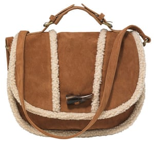 Key trends: Shearling: Satchel