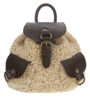 Key trends: Shearling: Rucksack