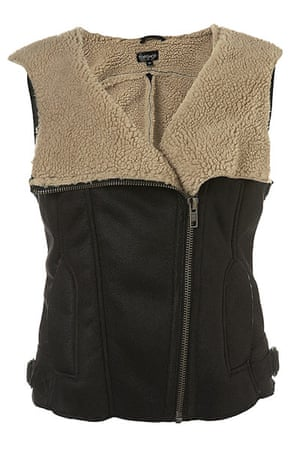 Key trends: Shearling: Gilet