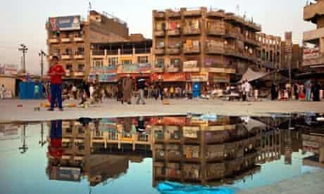 Baghdad marketplace