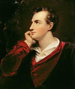 Literary last words: Portrait of George Gordon Byron, 6th Lord Byron