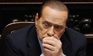 Silvio Berlusconi in parliament
