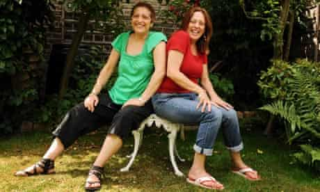 Shelley Silas (right) and her sister Leah.