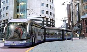 leeds trolleybus