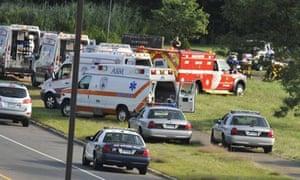 Police converge on Hartford Distributors