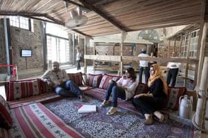 Venice Biennale: Bahrain, an installation of fishermen's huts