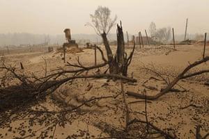 Russian wildfires: The Verkhnyaya Vereya village destroyed by wildfire