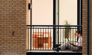 Tom Meltzer alone in apartment