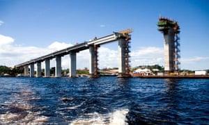 Manaus bridge amazon