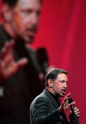 Giving Pledge: Oracle CEO Larry Ellison