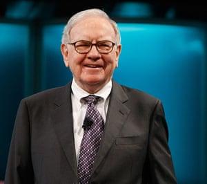 Giving Pledge: Businessman Warren Buffett