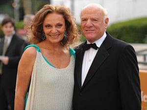 Giving Pledge: Diane Von Furstenberg and Barry Diller at the Metropolitan Opera