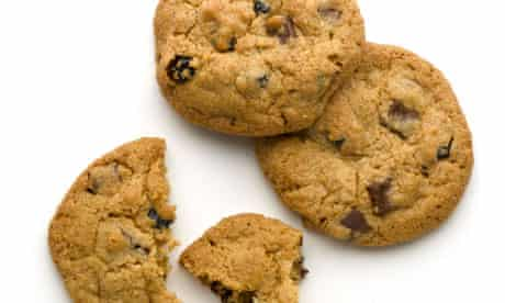 Blueberry choc-chip cookies