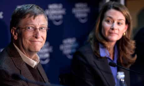 Bill Gates and Melinda French Gates, who are taking the Giving Pledge.