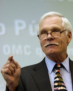 Giving Pledge: Ted Turner, Chairman of the UN Foundation