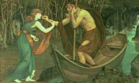 Charon ferried the souls of the dead across the Styx.
