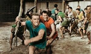 Kirk Douglas in Stanley Kubrick's 1960 classic Spartacus.