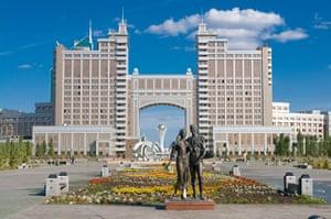 Astana: The Kay Munay Gaz building