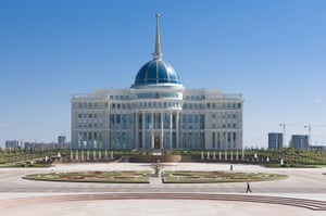 Astana: Presidential Palace, Astana, Kazakhstan, Central Asia