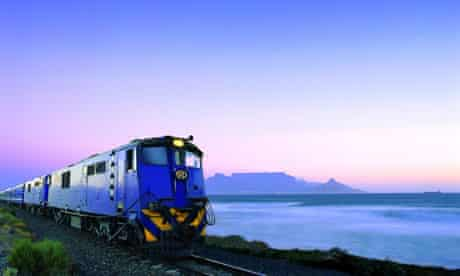 Nelson Mandela invited guests such as Naomi Campbell, Mia Farrow and Quincy Jones on the Blue Train