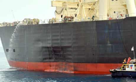 M Star oil tanker